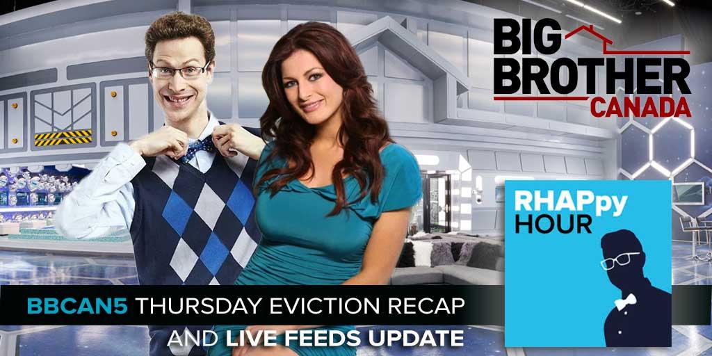 Big Brother Canada 5 April 20 Eviction Recap (Photo: Global TV/Corus Entertainment)