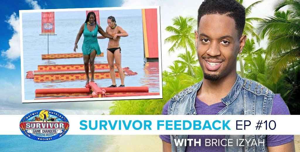 Survivor 2017: Brice Izyah on the Survivor Game Changers Episode 10 Feedback