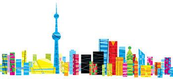 bright-pattern-toronto-patterned-skyline-city-ontario-canada-40498318