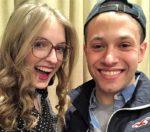 Sarah Hanlon and Matt Liguori form an adorable duo