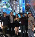 Podcast House 3.5 (Taran Armstrong, Brent Wolgamott, Lita Brillman, Matt Liguori, Katie Cuffari, Alex Kidwell) attends a live taping of Big Brother Canada