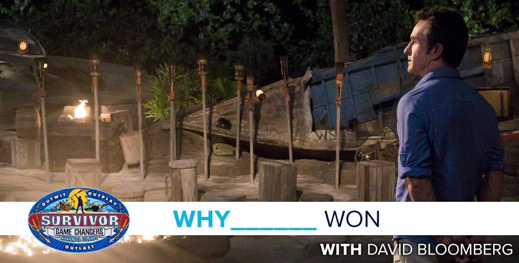 Survivor 2017: Why Sarah Lacina won Survivor Game Changers with David Bloomberg