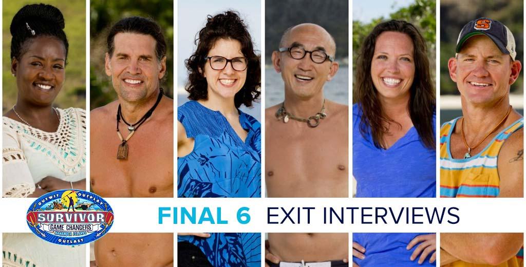 Survivor 2017: Exit Interviews with the winner & final 6 of Survivor Game Changers