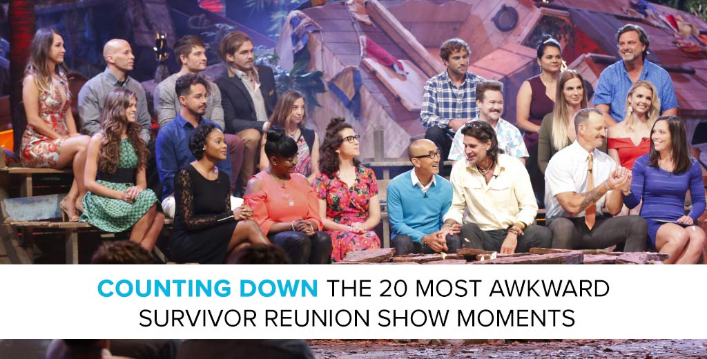 Survivor 2017: Counting Down Survivor's Most Awkward Reunion Show Moments with Lindsay Wilson