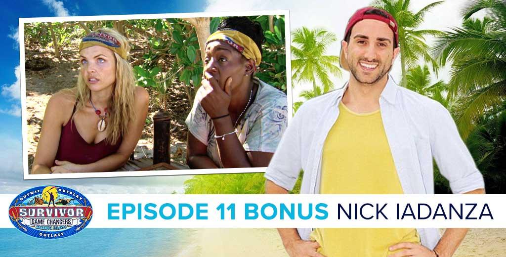 Surivor 2017: Nick Iadanza talks about Game Changers Episode 11