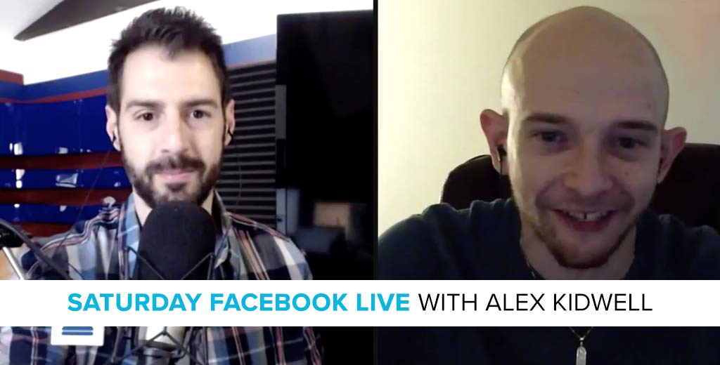 Facebook LIVE with Alex Kidwell