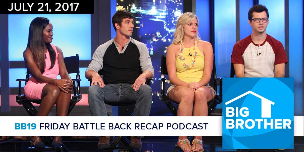 Big Brother  19 | Friday Battle Back Recap Podcast | Steve Moses (Photo: CBS)