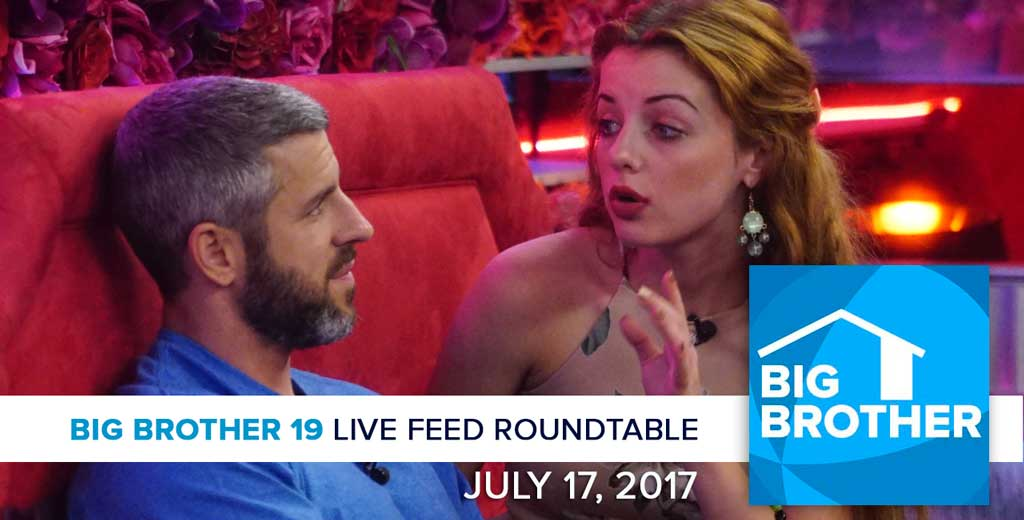 Big Brother 19 | Monday LFC Roundtable | July 17, 2017 (Photos: CBS)
