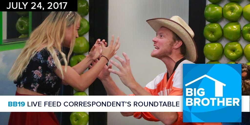 Big Brother 19 | Monday LFC Roundtable | July 24, 2017 (Photos: CBS)