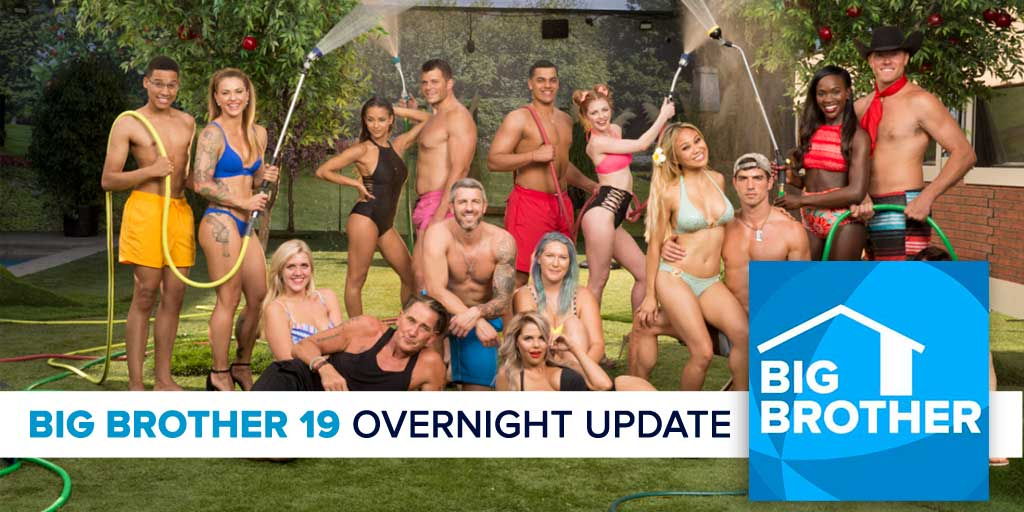 Big Brother 19 | Overnight Update Podcast | July 16, 2017 (Photo: CBS)