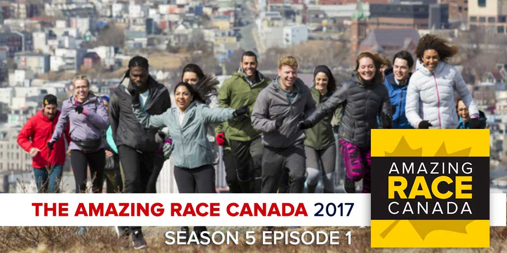 The Amazing Race Canada 2017 | Season 5 Episode 1 Recap Podcast (Photo: CTV/Bell Media)