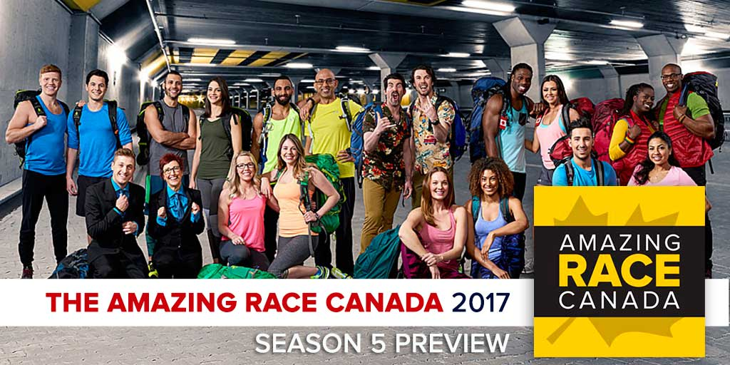 The Amazing Race Canada 2017 | Season 5 Preview Podcast (Photo: CTV/Bell Media)