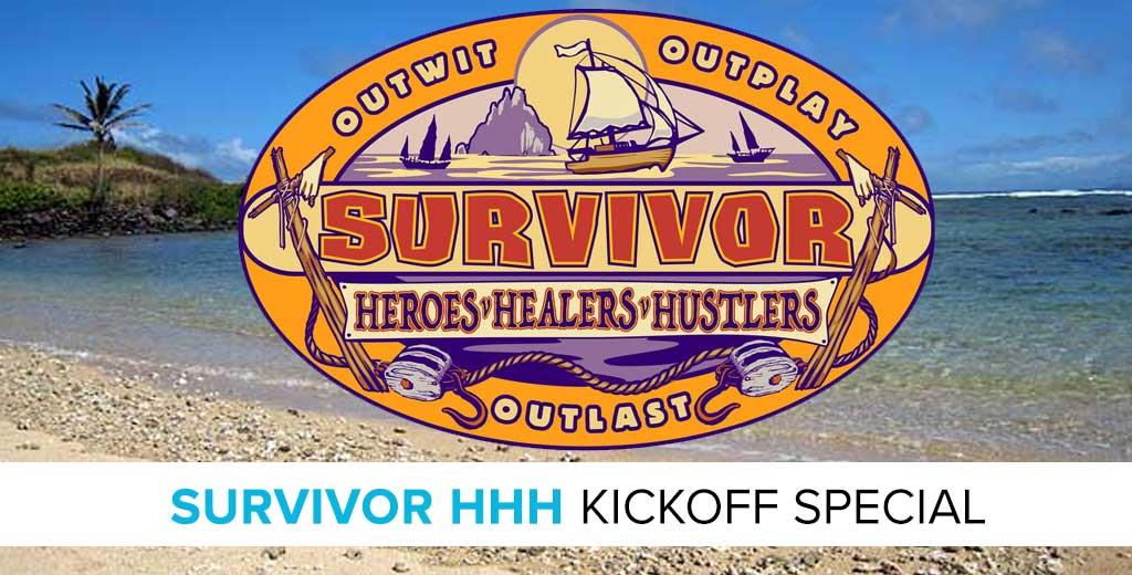 Survivor 2017: Heroes v. Healers v. Hustlers Kickoff Preview Special with Mike Bloom