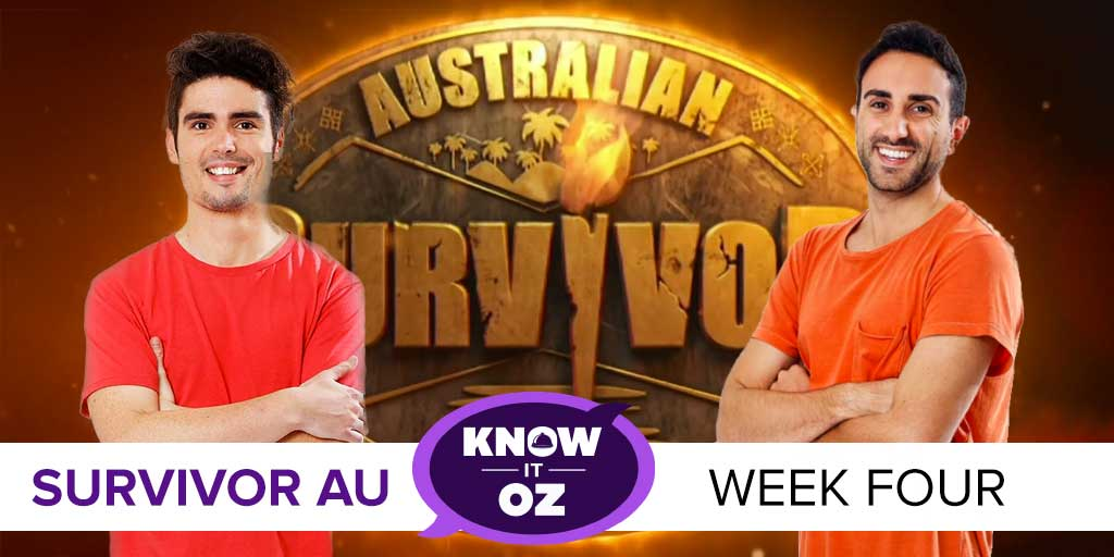 Survivor Know It Oz Australian Survivor Week 4 With Evan