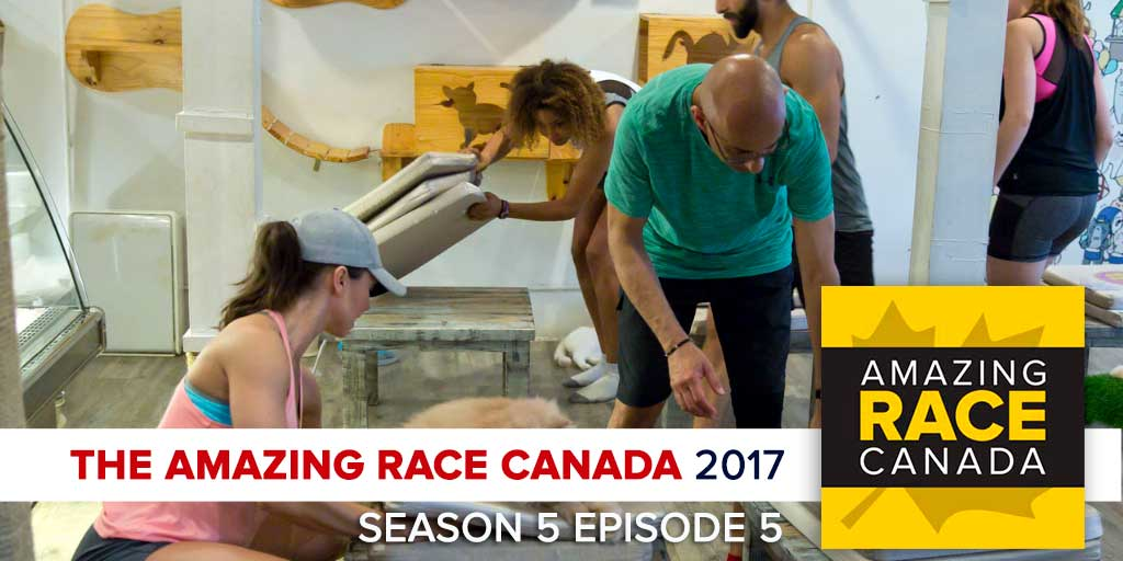 The Amazing Race Canada 2017 | Season 5 Episode 5 Recap Podcast (Photo: CTV/Bell Media)