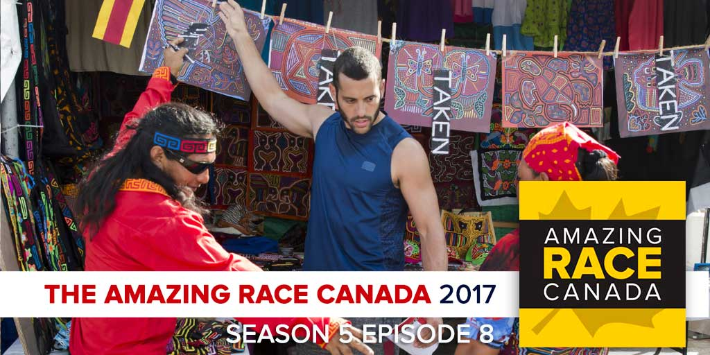 The Amazing Race Canada 2017 | Season 5 Episode 8 Recap Podcast (Photo: CTV/Bell Media)
