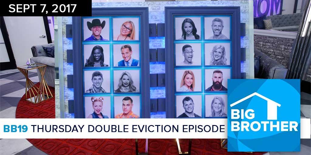Big Brother  19 | Thursday Double Eviction Recap Podcast (Photo: CBS)