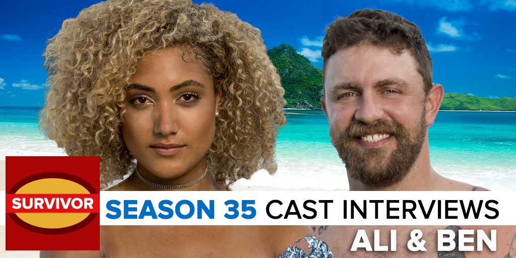 Survivor 2017: Josh Wigler's Pre-Season interview with Ben & Ali