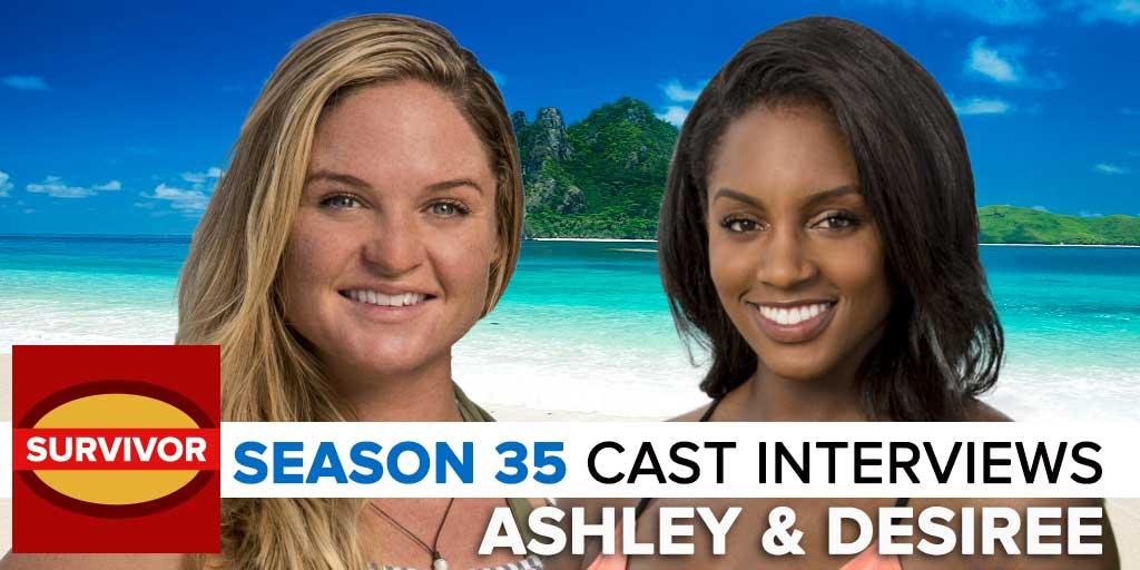Survivor 2017: Josh Wigler's Pre-Season interview with Desi Williams & Ashley Nolan