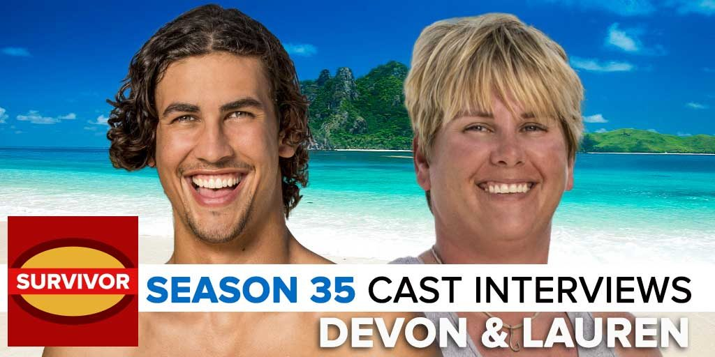 Survivor 2017: Josh Wigler's Pre-Season interview with Devon Pinto & Lauren Rimmer