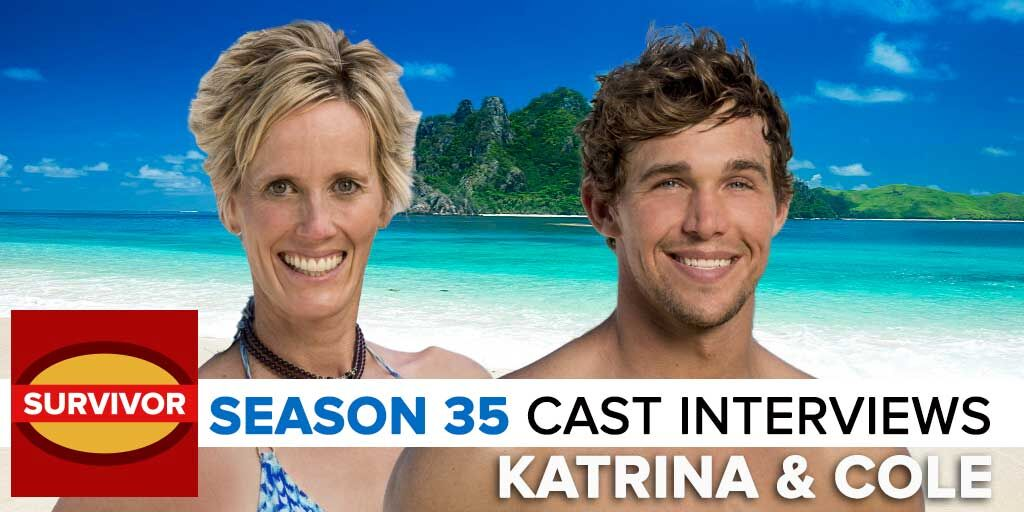 Survivor 2017: Josh Wigler's Pre-Season interview with Cole Medders & Katrina Radke