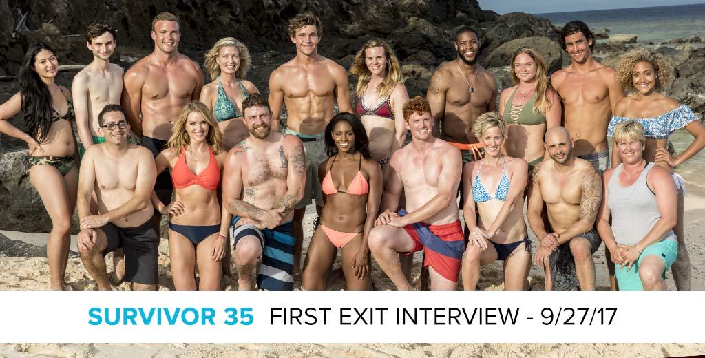 Survivor 2017: Exit Interview with the first player voted out of Survivor: Heroes v. Healers vs. Hustlers, Katrina Radke