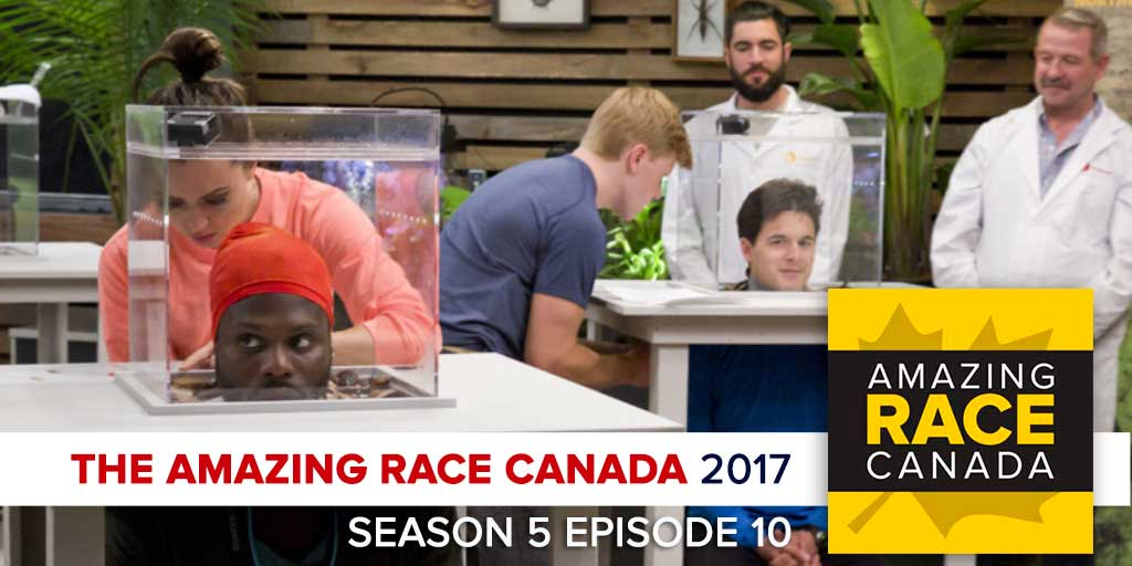 The Amazing Race Canada 2017 | Season 5 Episode 10 Recap Podcast (Photo: CTV/Bell Media)