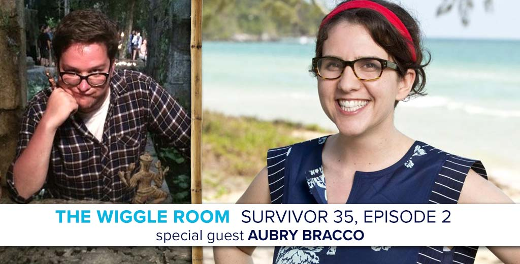 Survivor 2017: Aubry Bracco enters the Survivor 35 Episode 2 Wiggle Room