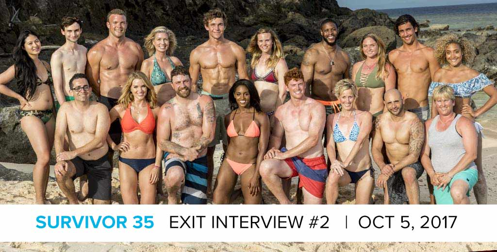 Survivor 2017: Exit Interview with the Latest Player Who Was Voted off Survivor