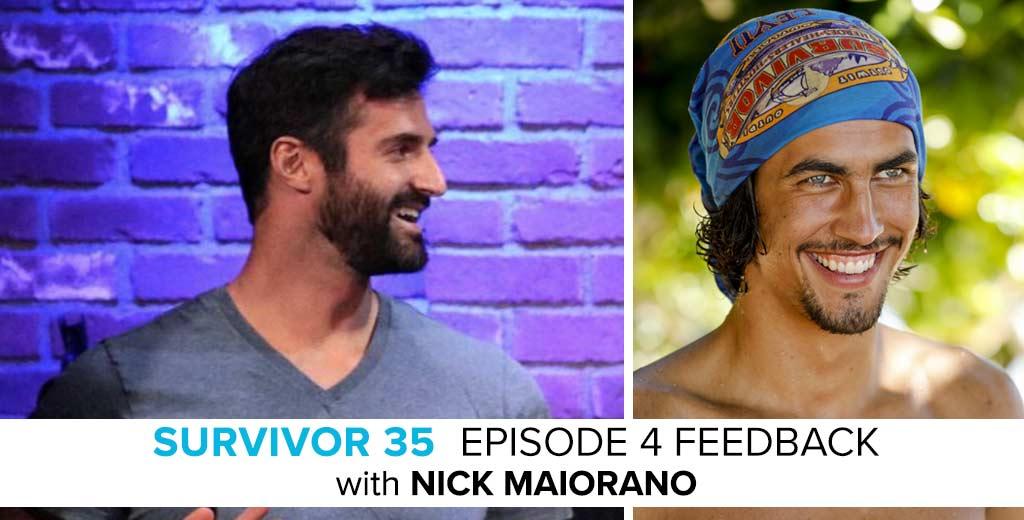 Nick Maiorano Answer the Survivor: Heroes v. Healers v. Hustlers Episode #4 Feedback