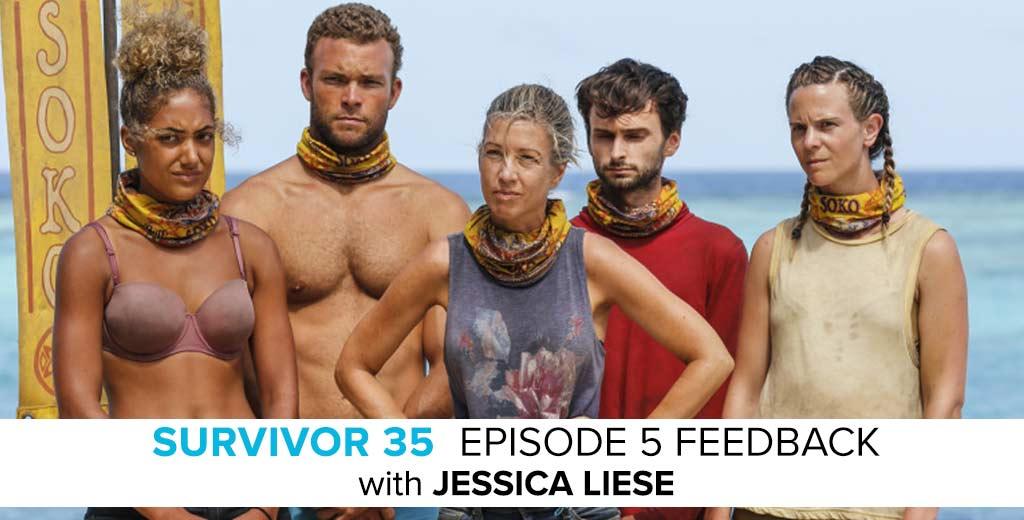 Survivor 2017: Jessica Liese Answers the Survivor: Heroes v. Healers v. Hustlers Episode #5 Feedback