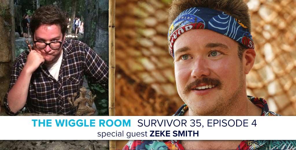 Survivor 2017: Zeke Smith Joins Rob & Josh on the Wiggle Room
