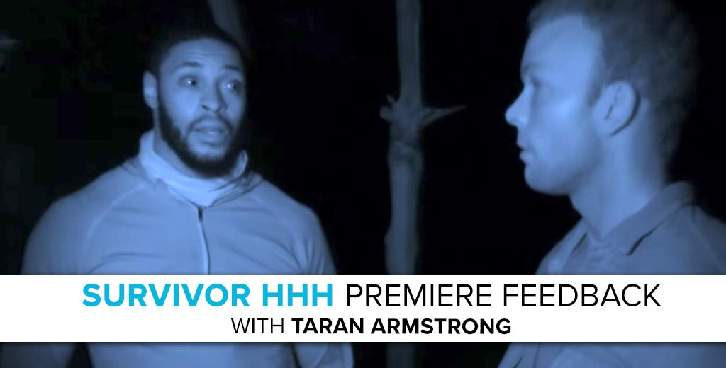 Survivor 2017: Rob Cesternino answers the Survivor HHH Season Premiere Voicemails with Taran Armstrong