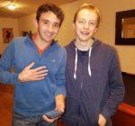 Indian Poker Grandmasters, Ian Terry and Dom Harvey.