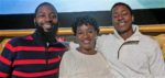 The Fields family: H.B., Cirie, Jared