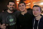 Colin Stone, Austin Trupp, and Dom Harvey