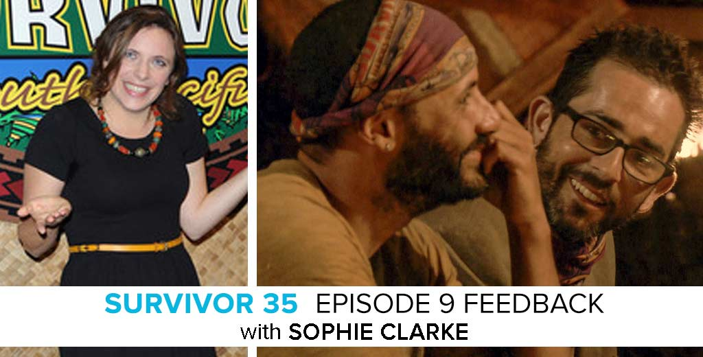 Survivor Season 35, Episode 9 feedback show with Sophie Clarke