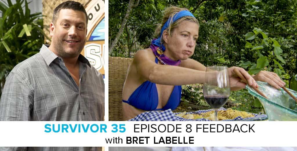 Bret LaBelle Answers the Survivor: Heroes v. Healers v. Hustlers Episode #8 Feedback