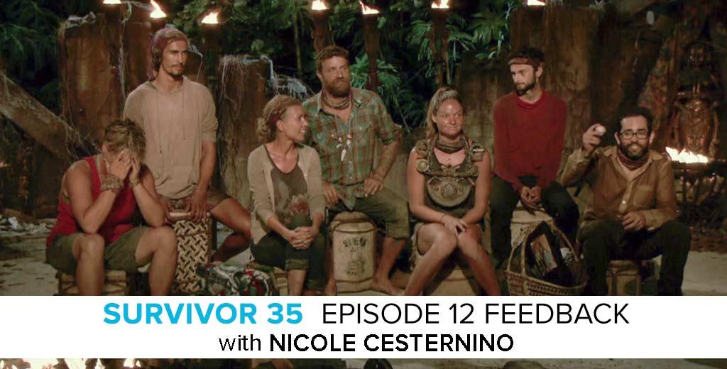 Nicole Cesternino Answers the Survivor: Heroes v. Healers v. Hustlers Episode #12 Feedback