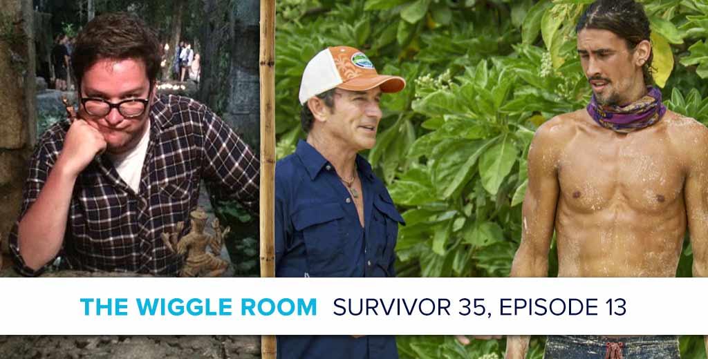 Josh Wigler on Survivor: Heroes v. Healers v. Hustlers, Episode 13