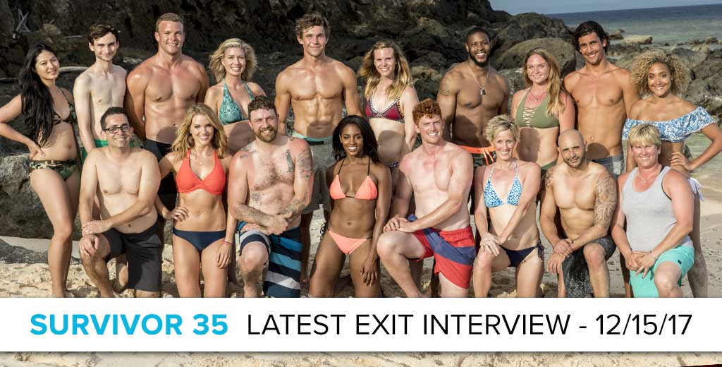 Survivor 2017: Exit Interview with the latest player Voted out Dec 13
