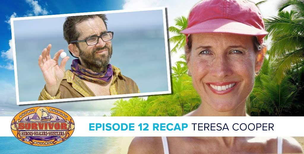 "Survivor Heroes v Healers v Hustlers Episode 12 Recap with Teresa ""T-Bird"" Cooper"