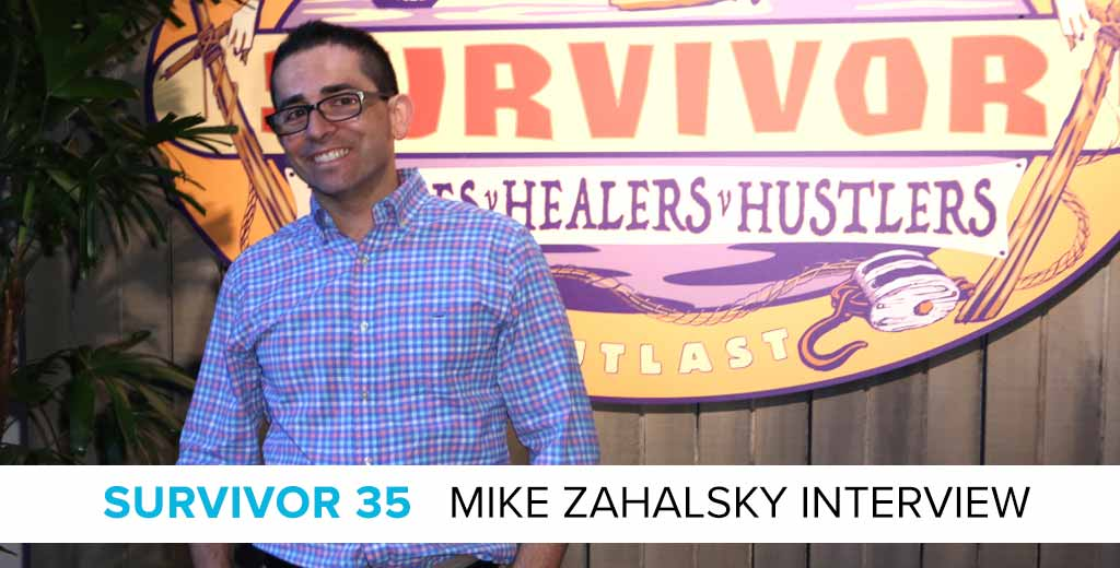 Interview with Doctor Mike Zahalsky of Survivor: Heroes v. Healers v. Hustlers