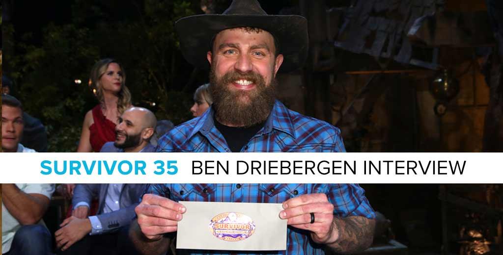 Survivor 2018: Interview with the Survivor 35 Winner, Ben Driebergen