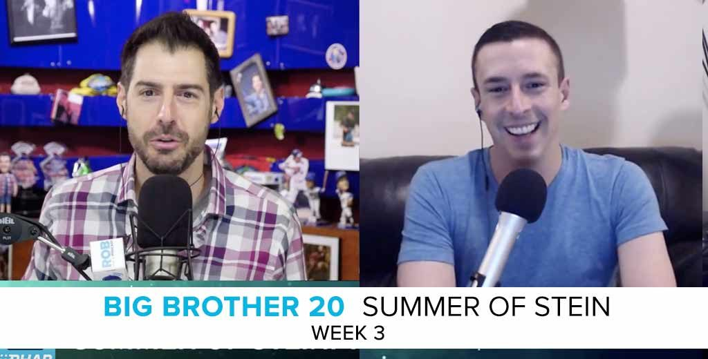 Summer of Stein: Eric Stein on the Week 3 of Big Brother 20