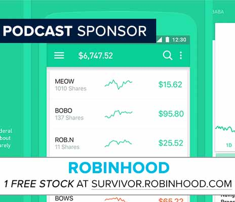 Get a FREE Share of Stock with signup at Survivor.Robinhood.com