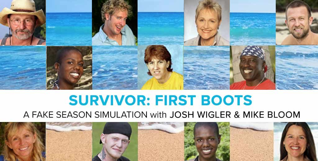 Survivor: First Boots - A Brant Steele Simulation with Josh Wigler & Mike Bloom