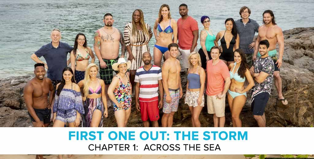 "First One Out: The Storm - A Survivor Preseason Podcast | Chapter 1: ""Across the Sea"""