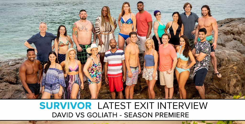 Survivor: David vs. Goliath Exit Interview with Pat Cusack