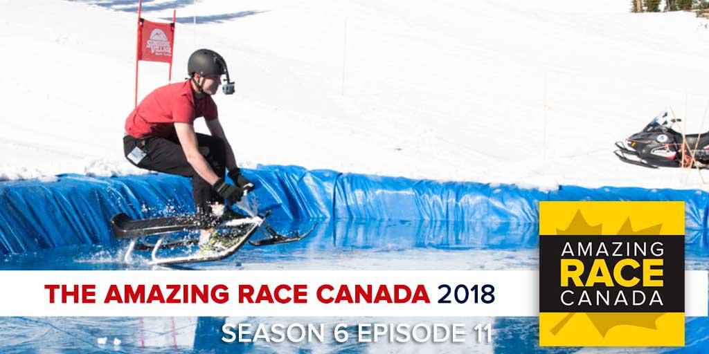 The Amazing Race Canada 2018   Season 6 Episode 11 RHAPup